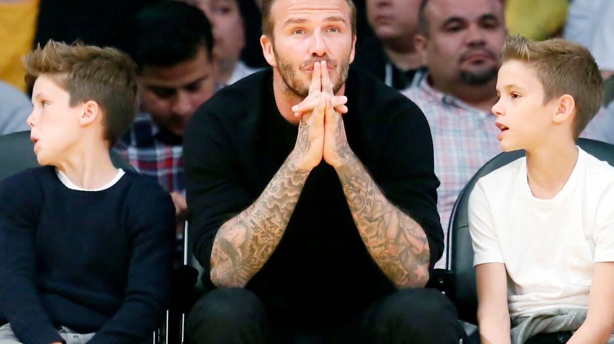 David Beckham aime bien coller la honte à ses fils, et c'est franchement drôle!