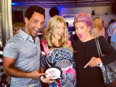 DIAPO Fergie a organisé une baby shower « gay » pour son bébé