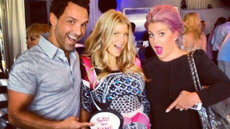 DIAPO Fergie a organisé une baby shower «gay» pour son bébé