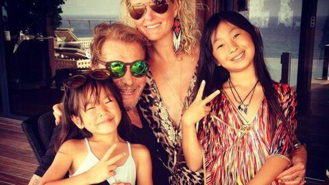 PHOTOS Johnny et Laeticia Hallyday fêtent l'anniversaire de leur  fille Joy
