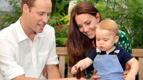 Prince George apprend à nager dans la piscine privée de Buckingham
