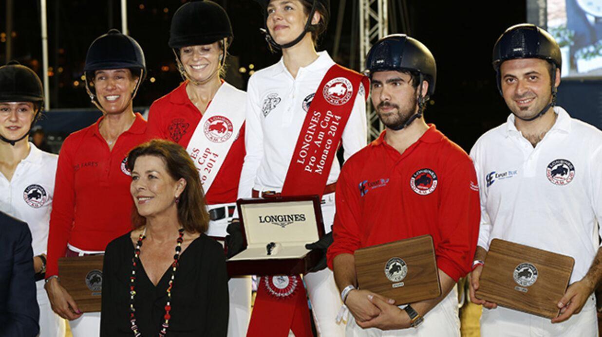 DIAPO Charlotte Casiraghi remporte une compétition équestre!