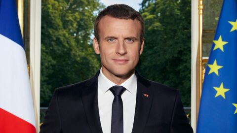 Emmanuel Macron : les coulisses du shooting de sa photo officielle de président de la République