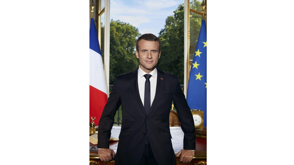 Emmanuel Macron: les coulisses du shooting de sa photo officielle de président de la République