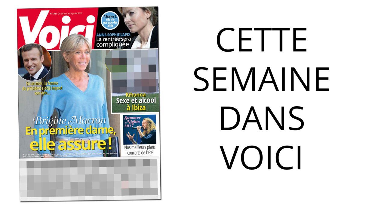 Cette semaine dans Voici: Brigitte Macron assure en première dame