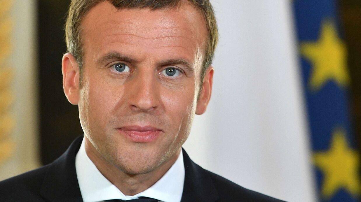 PHOTO Emmanuel Macron se la joue super sexy pour son portrait officiel de président de la République