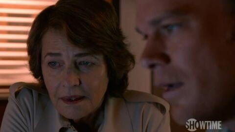 VIDEO Les premières images de Charlotte Rampling dans Dexter
