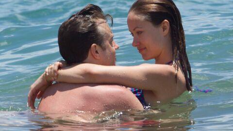 DIAPO Plus sexy que jamais, Olivia Wilde (Dr House) roucoule à la plage avec son mec
