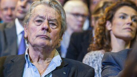 Alain Delon entendu dans une affaire de grand-banditisme