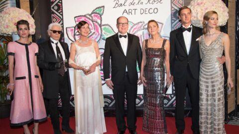 DIAPO Charlotte Casiraghi, Caroline: paillettes et glamour au Bal de la Rose