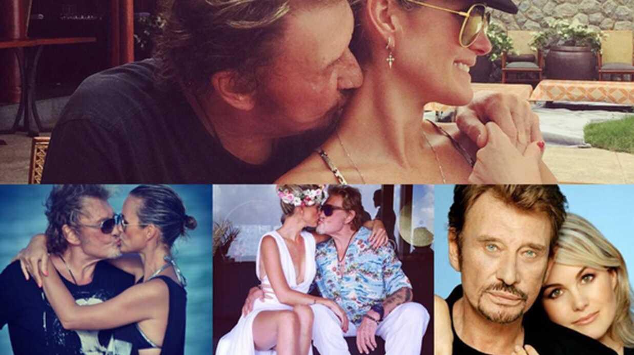 PHOTOS L'émouvant message de Laeticia Hallyday à Johnny pour leurs 20 ans de mariage