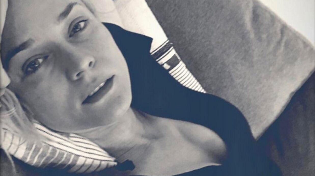 PHOTO Diane Kruger: son selfie très sexy sans maquillage