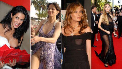 PHOTOS Melania Trump, Nabilla, Sophie Marceau… Quand les stars en montrent trop
