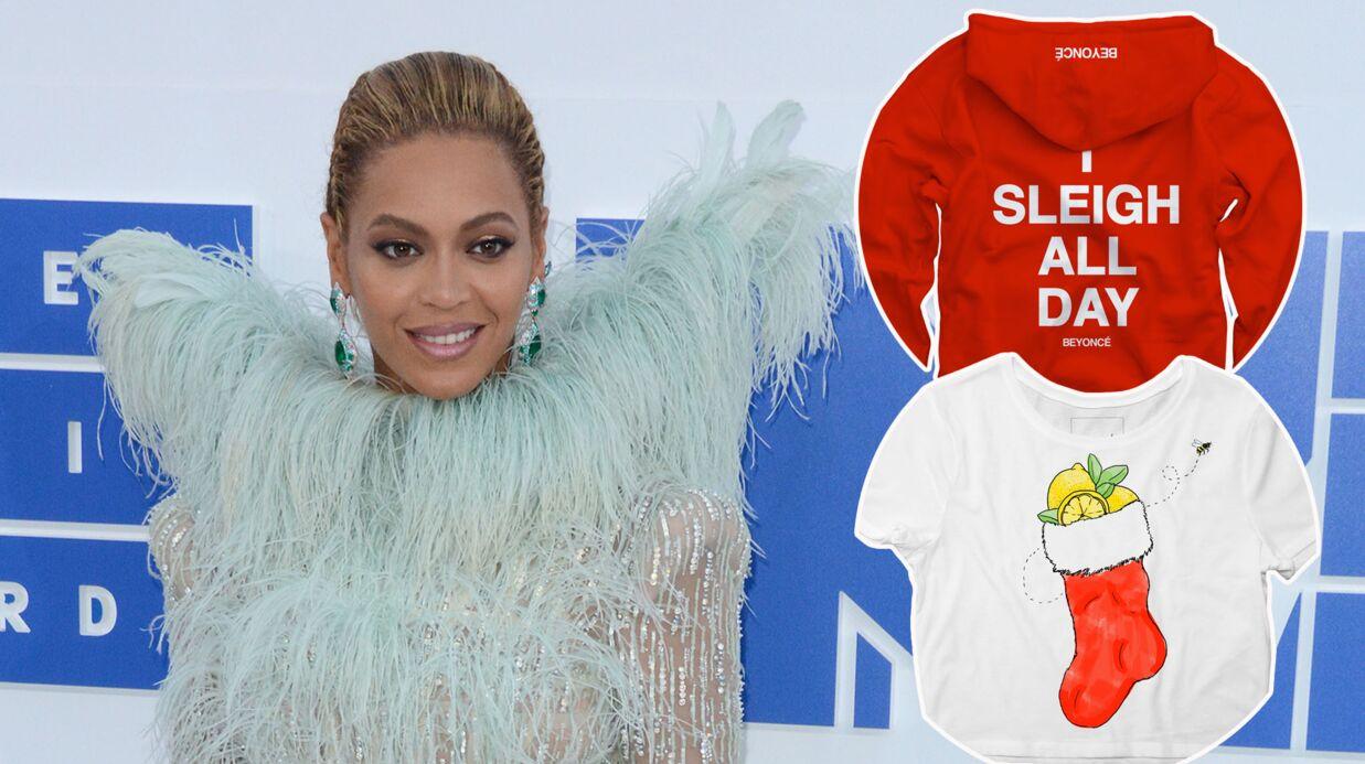 MODE Beyoncé lance une mini-ligne de vêtements pour Noël