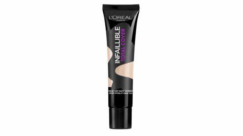 L'Oréal lance Infaillible Total Cover pour couvrir toutes les imperfections de la peau
