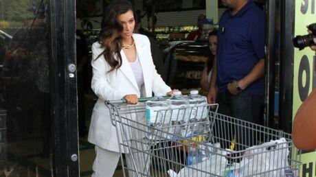 PHOTOS Kim Kardashian s'est préparée pour l'ouragan Sandy