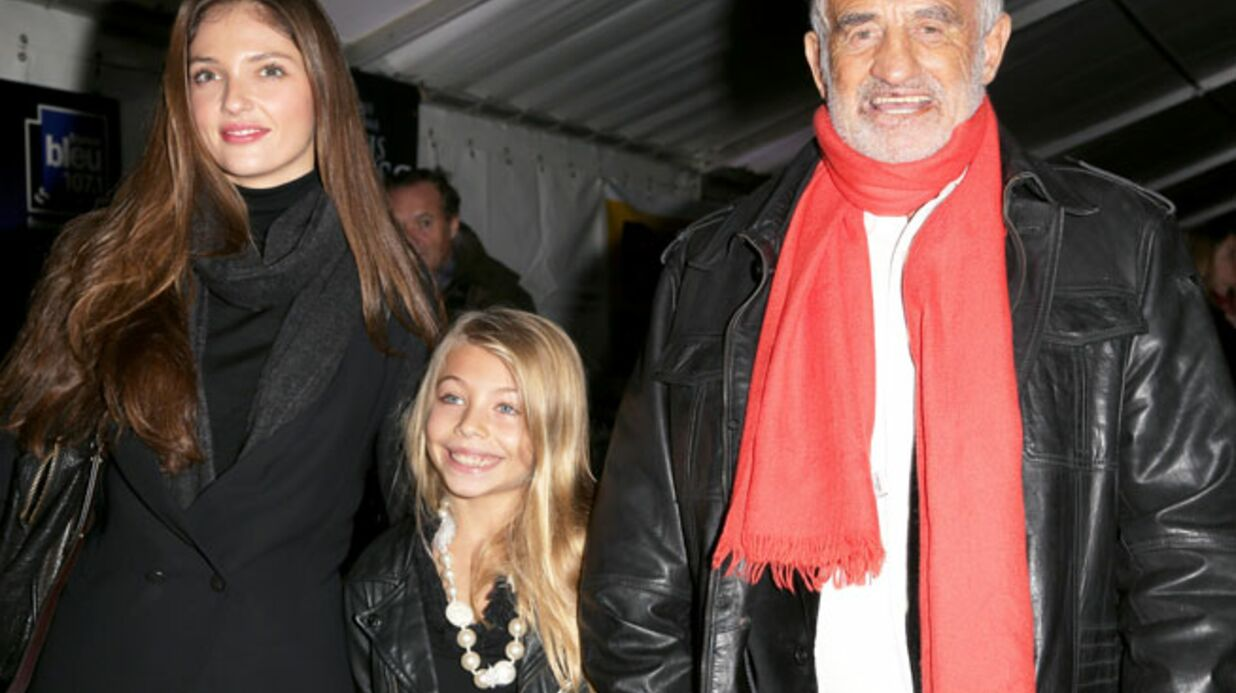 DIAPO Jean-Paul Belmondo emmène sa fille et sa petite fille au Cirque