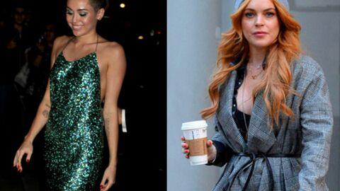 Lindsay Lohan et Miley Cyrus: un nouveau duo de fête qui fait peur