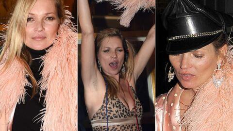 PHOTOS Kate Moss complètement déchaînée lors d'une soirée