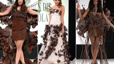 PHOTOS Valérie Bègue, Hapsatou Sy, Gyselle Soares sexy en robes en chocolat