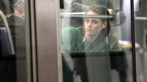 PHOTOS Kristen Stewart découvre les joies du métro parisien