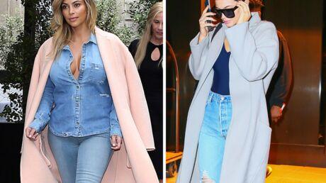 PHOTOS Kylie Jenner pique les looks de sa sœur Kim Kardashian, la preuve!