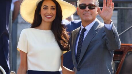 PHOTOS George Clooney et Amal Alamuddin officiellement mariés