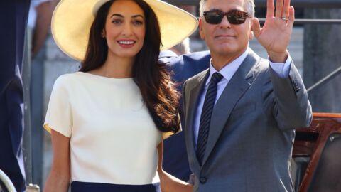 PHOTOS George Clooney et Amal Alamuddin officiellement mariés