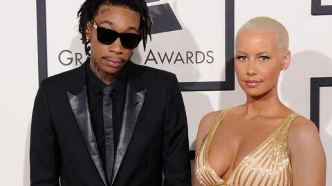 Amber Rose a surpris son futur ex-mari, Wiz Khalifa, chez lui avec une autre femme