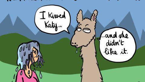 Louison a croqué: Katy Perry à la conquête du Machu Picchu