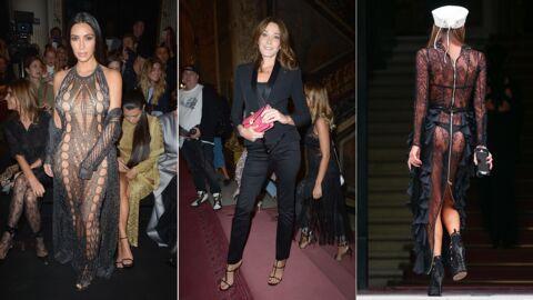 PHOTOS Kim Kardashian étonnante, Carla Bruni sublime, Anna Dello Russo en string pour Balmain