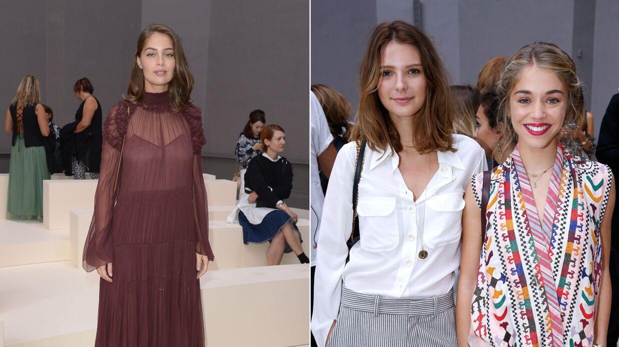 PHOTOS Fashion Week: Marie-Ange Casta, Alice Isaaz, Joséphine Japy ultra chics pour Chloé