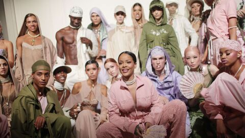 PHOTOS Fashion Week : Rihanna fait son show à Paris avec sa collection pour Puma
