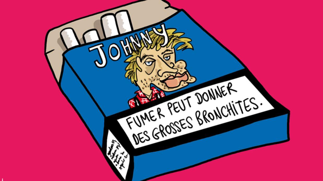 Louison a croqué… Johnny hospitalisé pour une bronchite