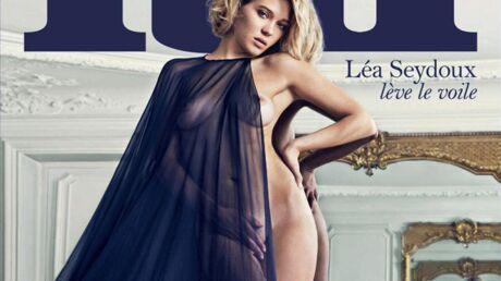 PHOTO Léa Seydoux nue en couverture du nouveau Lui
