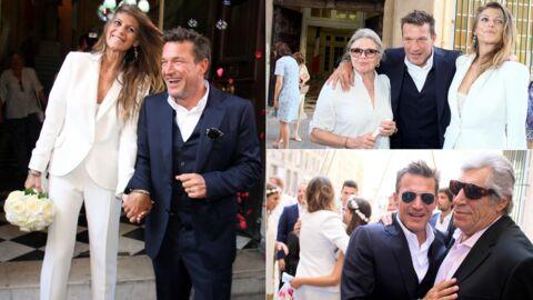 Mariage de Benjamin Castaldi et Aurore Aleman: toutes les photos!