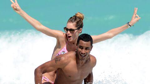 DIAPO Doutzen Kroes s'éclate à la plage avec son chéri