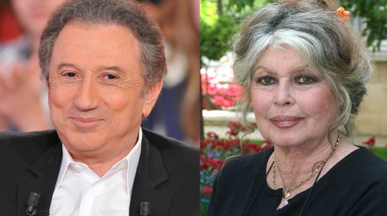Michel Drucker et Brigitte Bardot sauvent Bambi