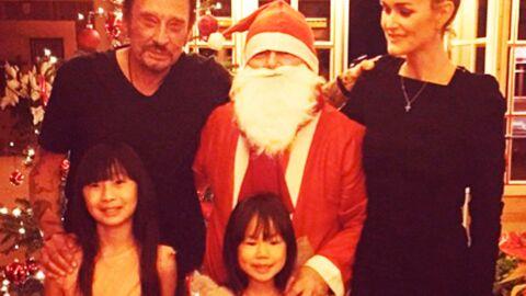 PHOTO Johnny Hallyday: fêtes de fin d'année entre famille et amis stars à Gstaad