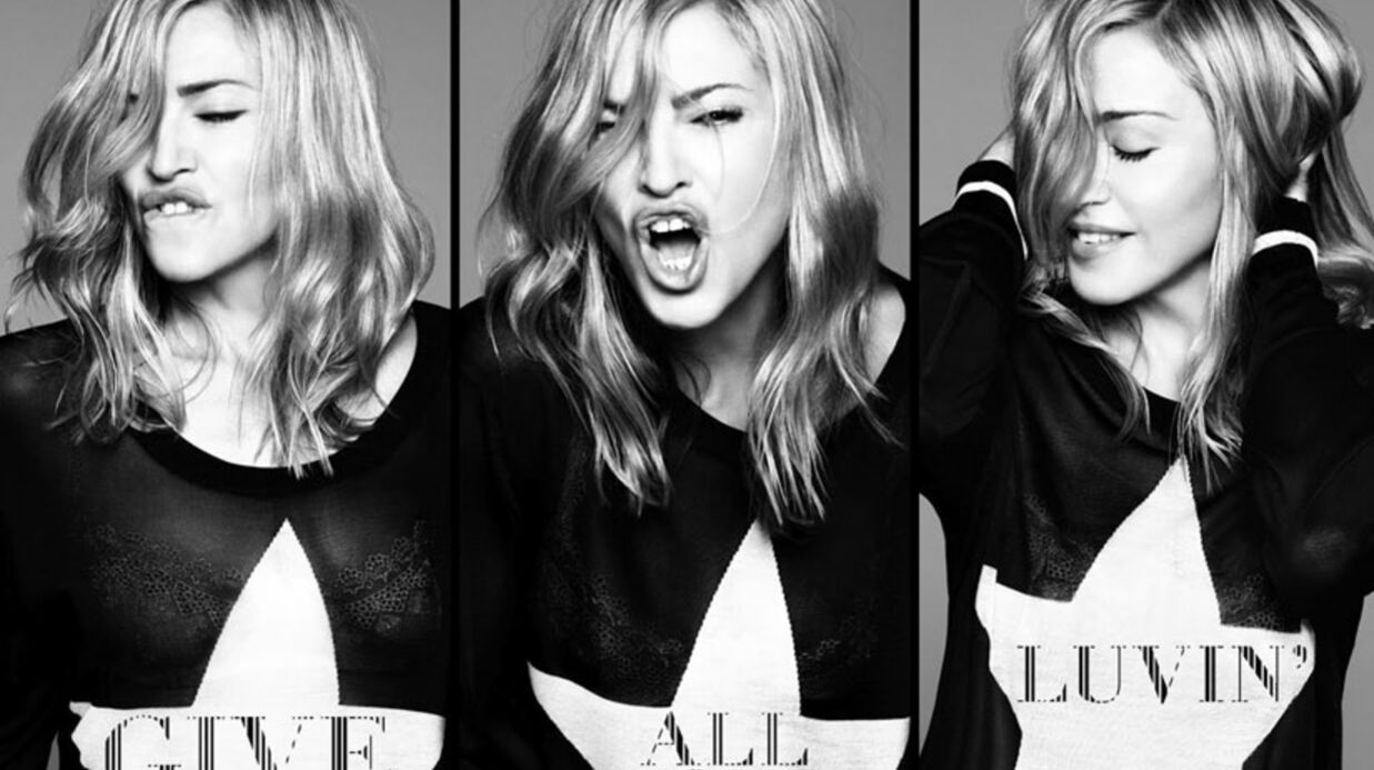 PHOTO Madonna rajeunit sur la pochette de son nouveau single