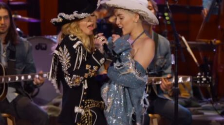 VIDEO Madonna et Miley Cyrus : leur étonnant duo country et sexy
