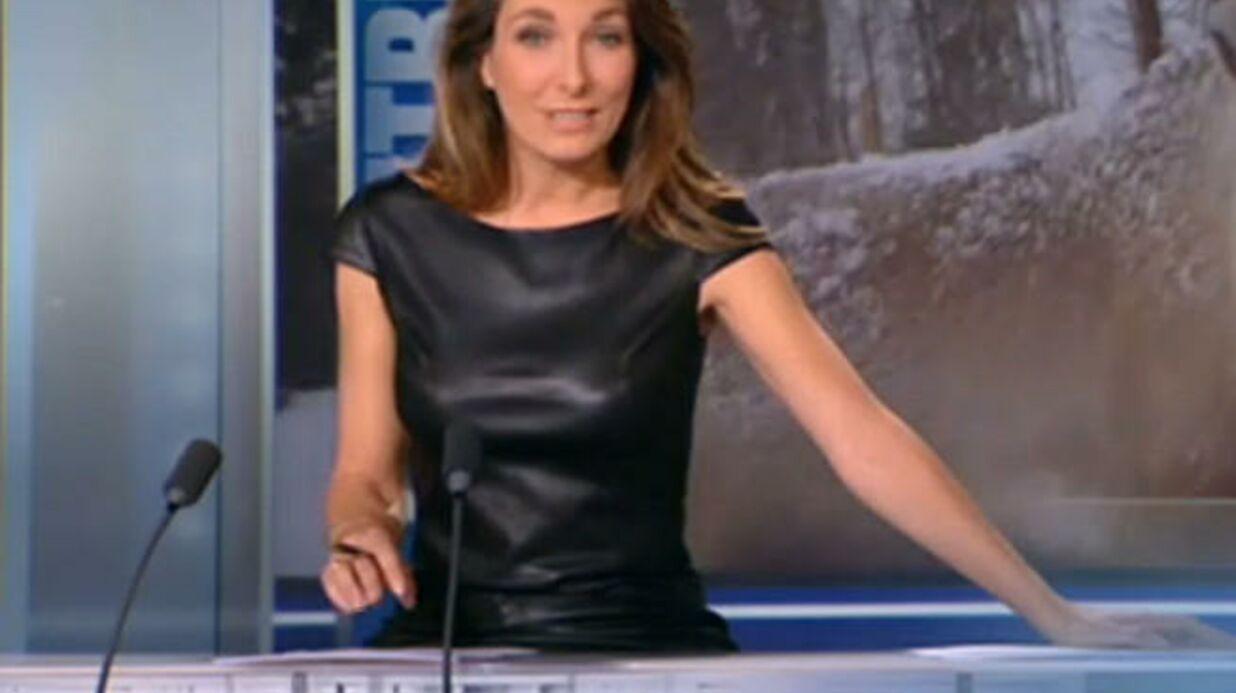 Anne-Claire Coudray sexy au 20 heures de TF1, elle regrette