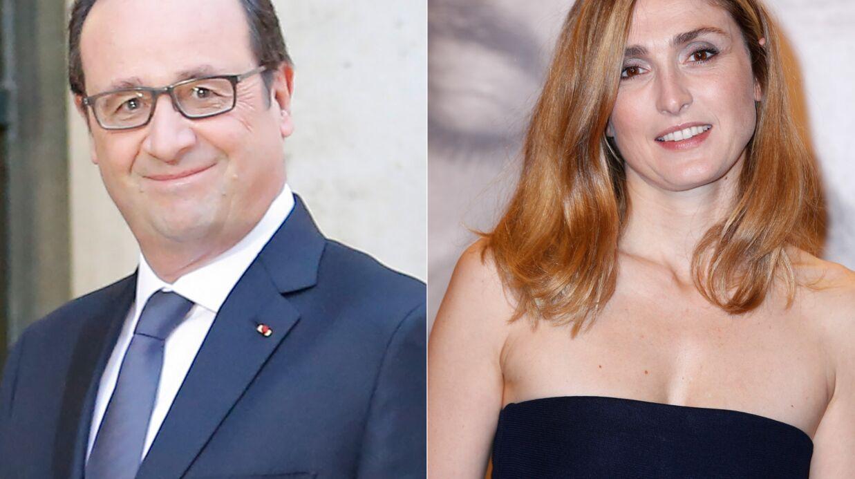 Julie Gayet et François Hollande: leurs dîners en bonne compagnie à l'Elysée
