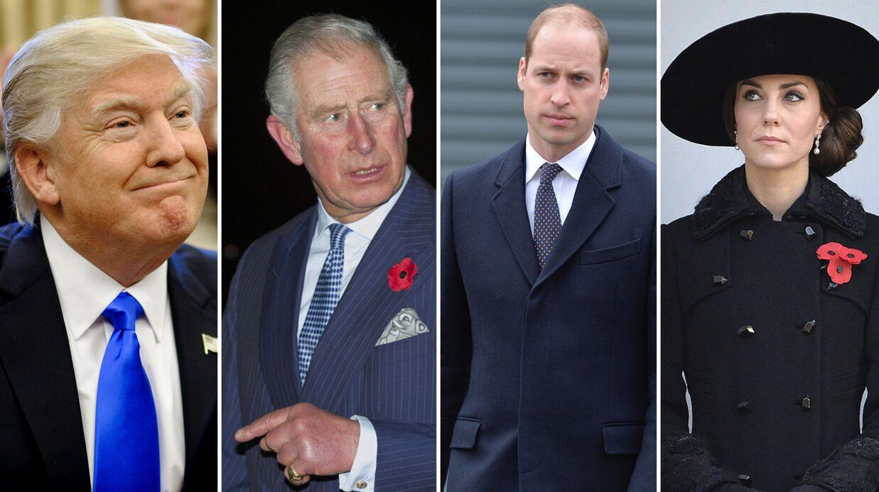 Donald Trump invité par Elizabeth II: pourquoi Charles, William et Kate lui en veulent