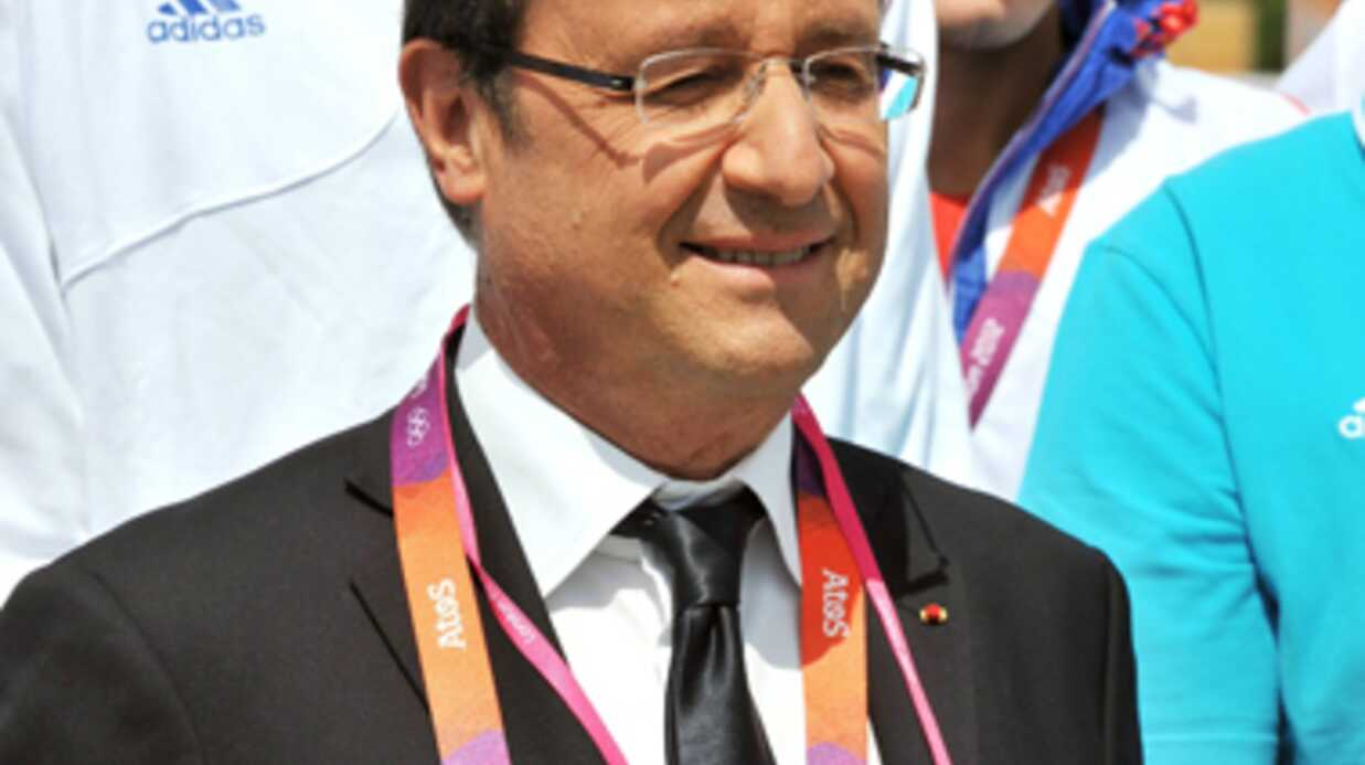 PHOTOS François Hollande, traité comme un mec normal aux J.O.