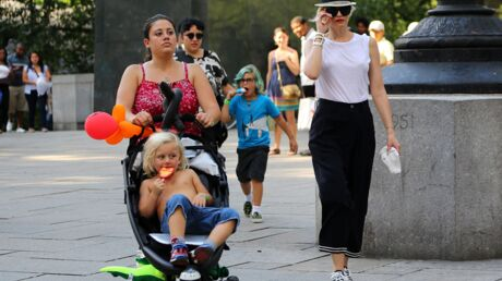 PHOTOS Les enfants de Gwen Stefani s'éclatent à Central Park