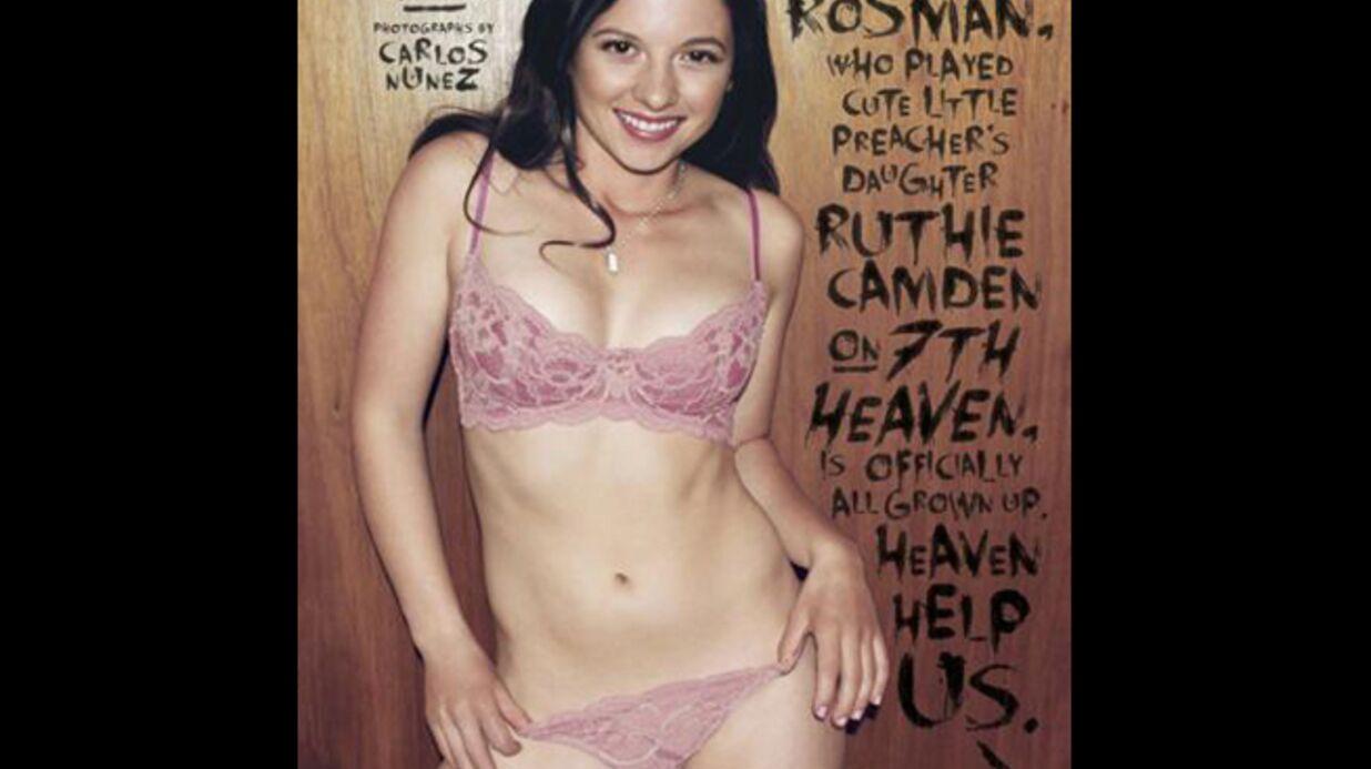 PHOTOS Mackenzie Rosman (7 à la maison) pose en lingerie