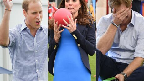 PHOTOS Kate, William et Harry s'amusent comme des fous aux jeux du Commonwealth