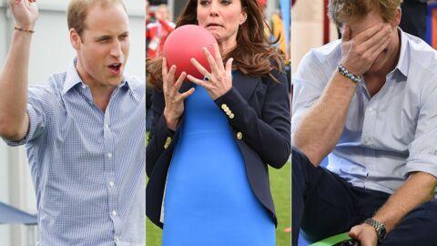 PHOTOS Kate, William et Harry s'amusent comme des fous aux jeux du Commonwealth