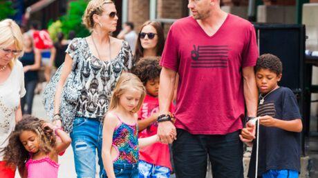 DIAPO Heidi Klum en famille à New York
